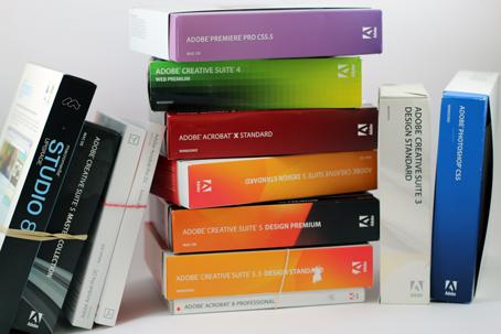 Bild: Gebrauchte Software von Adobe | © 2ndsoft GmbH