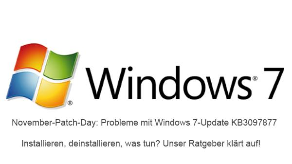 Windows 7: Probleme mit Update