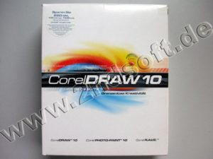 Bild: Corel Draw 10 Graphics Suite