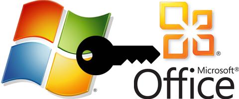 Lizenzschlüssel von Microsoft-Produkten entwendet. | Bild: Fotomontage gebrauchtesoftware.de