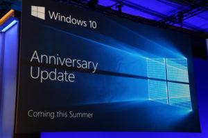 Bild: Im Sommer soll das Anniversary Update für Windows 10 erscheinen.