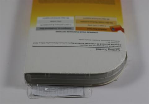 Das Echtheitszertifikat an der Verpackungsoberseite fehlt