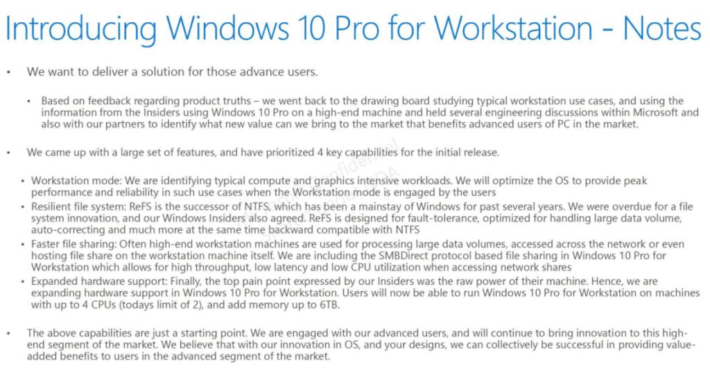 Bild: Screenshot des von Microsoft versehentlich veröffentlichten Blogbeitrags | Quelle: twitter (@GrandMofongo)