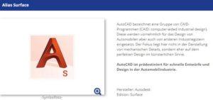 Foto: Autodesk Alias Sufrace bei 2ndsoft.de | © 2ndsoft.de