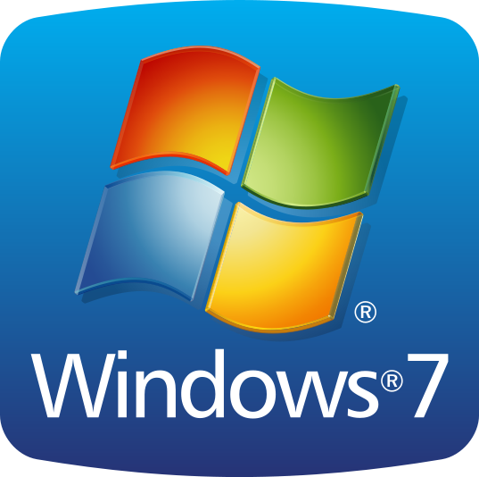 Microsoft Windows 7 Logo Betriebssystem OS Operating System
